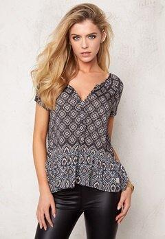 Odd Molly Love affair s/s blouse Asphalt Bubbleroom.se