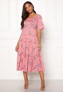 Odd Molly Lush Shake Dress Blush Pink Bubbleroom.se