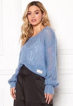 Odd Molly Mystery Fields Sweater Heritage Blue Bubbleroom.se