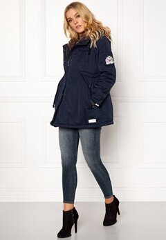 Odd Molly Parky Parka Dark Blue Bubbleroom.se