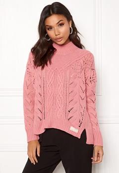Odd Molly Pathways Sweater Dusty Pink Bubbleroom.se