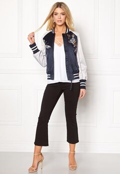 Odd Molly Playful Bomber Jacket French Navy Bubbleroom.no