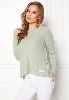 Odd Molly Retreat Sweater Soft Green Bubbleroom.se