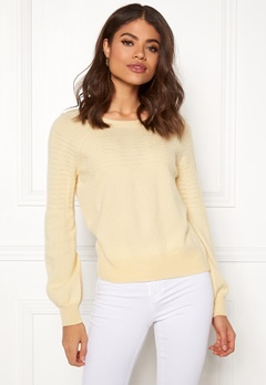 Odd Molly Soft Pursuit Sweater Light Yellow Bubbleroom.se