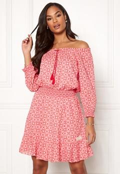 Odd Molly Stayin Free Dress Blush Pink Bubbleroom.se