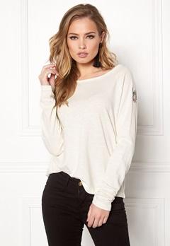 Odd Molly Sunshiny Sweater Bright White Bubbleroom.dk