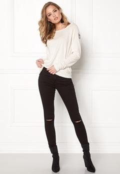 Odd Molly Sunshiny Sweater Bright White Bubbleroom.se