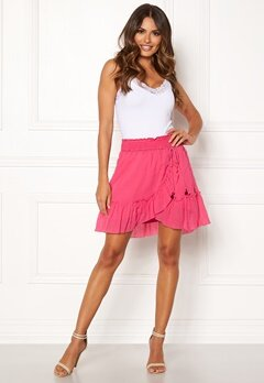 Odd Molly Superflow Skirt Blush Pink Bubbleroom.se