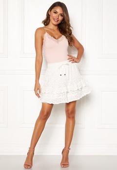 Odd Molly Swag Blossom Skirt Light Chalk Bubbleroom.se