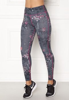 Odd Molly Sweat It Leggings Grey Bubbleroom.se