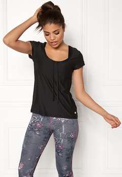 Odd Molly Sweat It Solid Top Almost Black Bubbleroom.dk