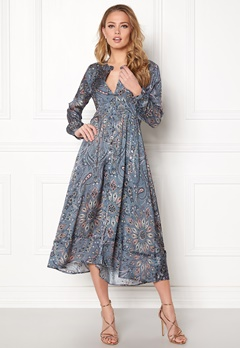 Odd Molly Triumph Long Dress Misty Blue Bubbleroom.se