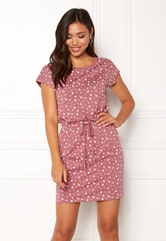 ONLY Olivia Mai Capsl Dress Mesa Rose Bubbleroom.se