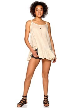 One teaspoon Le Beat Dress Ivory Bubbleroom.se