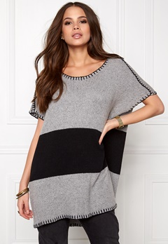 One teaspoon Moonstone knit dress Grey marle Bubbleroom.se