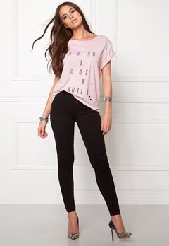 One teaspoon Rock n roller tee Pink Bubbleroom.no