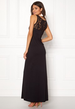e877970f01a6 ONLY Abbie Lace Maxi Dress Black Bubbleroom.se