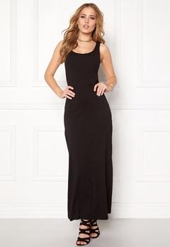 ONLY Abbie sl long dress Black Bubbleroom.se
