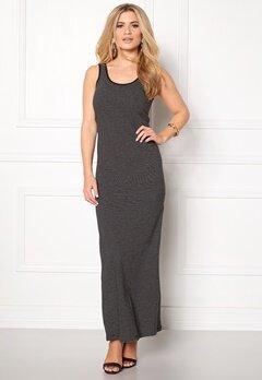 ONLY Abbie Stripe Long Dress Black Stripe Bubbleroom.se