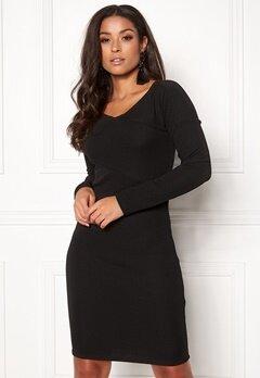 ONLY Akili L/S Dress Option Black Bubbleroom.fi