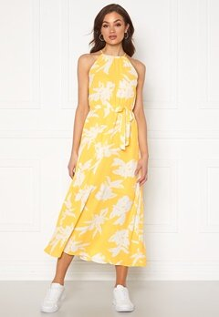 ONLY Alma Life S/L Long Dress Aspen Gold Bubbleroom.se