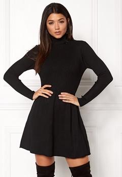 ONLY Alma L/S Dress Black Bubbleroom.se