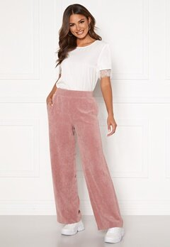 ONLY Alma-Nelle MW Wide Cord Pant Burlwood Bubbleroom.se
