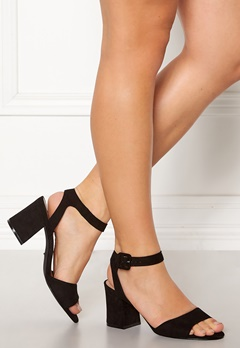 ONLY Amanda Heeled Sandal Black Bubbleroom.se