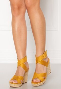 ONLY Amelia Wrap Heeled Sandal Sunshine Bubbleroom.se