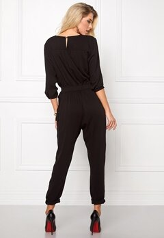 ONLY Arianna 3/4 Jumpsuit Black Bubbleroom.se