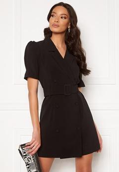 ONLY Astrid Puff Dress Black Bubbleroom.se