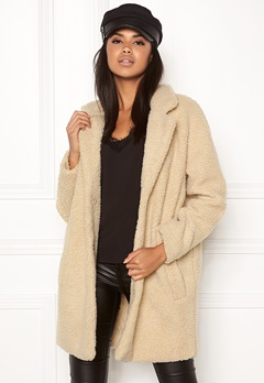 ONLY Aurelia Shearling Coat Nomad Bubbleroom.se