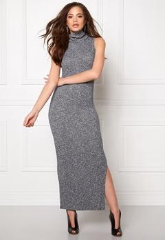 ONLY Axel L/S Long Dress Light Grey Melange Bubbleroom.no