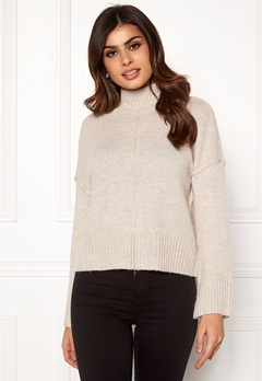 ONLY Babylou L/S Pullover Pumice Stone Bubbleroom.se