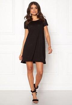 ONLY Bera Back Lace S/S Dress Black Bubbleroom.fi