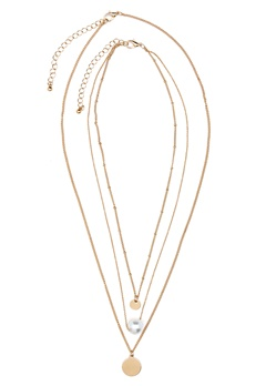 ONLY Betinna Necklace Gold Colour Bubbleroom.se
