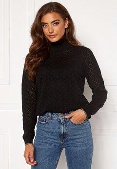 ONLY Brandi Life L/S Pullover Black Bubbleroom.se