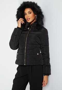 ONLY Camilla Quilted Jacket Black bubbleroom.se