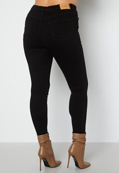 Only Carmakoma Jenny HW Skinny Jeans Black Denim bubbleroom.se
