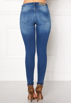 ONLY Carmen Reg SK Ankle Medium Blue Denim Bubbleroom.fi