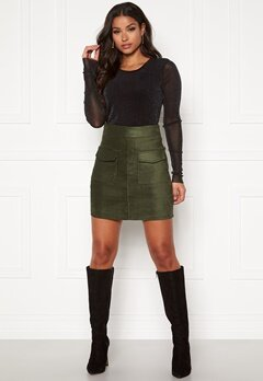 ONLY Cassie Skirt Forest Night Bubbleroom.se