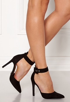ONLY Chloe Buckle Pump Black Bubbleroom.se
