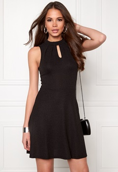 ONLY Cicilia S/L Dress Black Bubbleroom.se