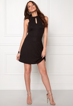 ONLY Cicilia S/L Dress Black Bubbleroom.se