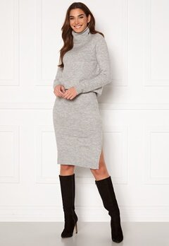 ONLY Cille Skirt Ex Knit Ligth Grey Melange Bubbleroom.se