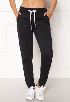 ONLY Coolie Sweat Pants Black Bubbleroom.fi