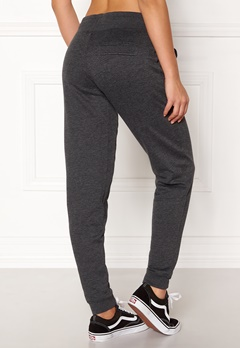 ONLY Coolie Sweat Pants Dark Grey Melange Bubbleroom.fi