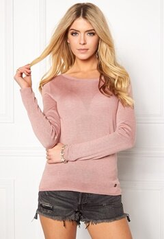 ONLY Cosy L/S String Pullover Rose Dawn Bubbleroom.se