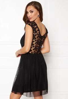 ONLY Crochetta Mesh Dress Black Bubbleroom.se