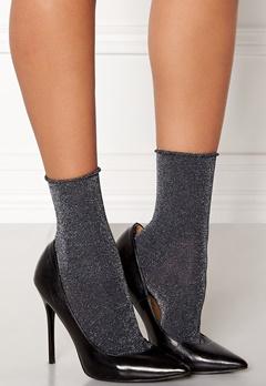 ONLY Darla Socks 3-Pack Metallic Black Bubbleroom.dk